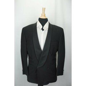 Canali Shawl DBL Breasted 100% Wool 2Pc Tuxedo Set